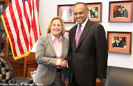 US should reconsider Myanmar sanctions: SHANMUGAM