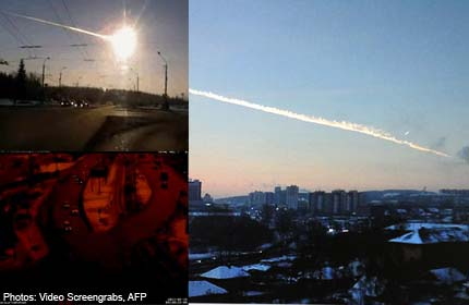 'The end of the world?': Terror over Russian meteor
