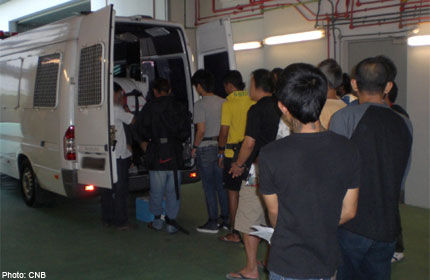 116 drug offenders arrested