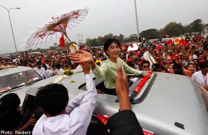 Suu Kyi's party complains of 'unfair treatment'