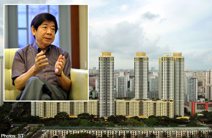 Minister Khaw explains the math of buying a flat on $1000 salary
