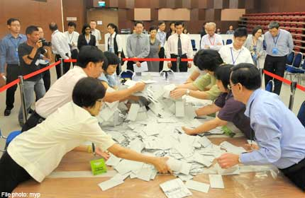 BALLOT PAPERS FROM 2011 PRESIDENTIAL ELECTION TO BE DESTROYED