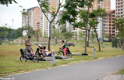 MINISTER KHAW: USERS SHOULD KEEP PARKS CLEAN