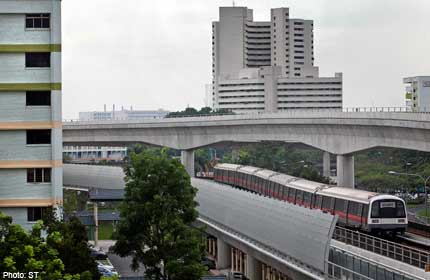 Noise barriers to be installed along East-West MRT line