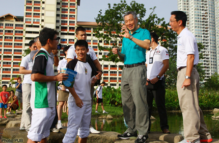PM LEE OPENS $76 MILLION BISHAN-ANG MO KIO PARK