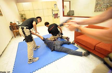 SECRET CNB UNIT BUSTS DRUG SYNDICATES