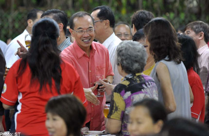 Time for Singapore to work together: George Yeo