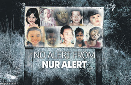 Questions over Malaysia's missing child alert system