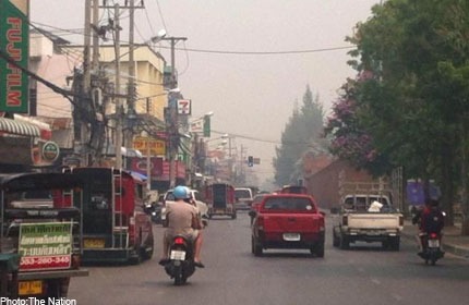 Haze in 9 Thai northern provinces reaches critical stage