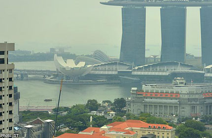 Haze over Singapore skies to persist over next few days