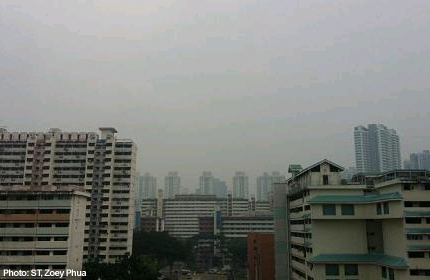 Haze returns, Sumatra fires the cause - Singapore
