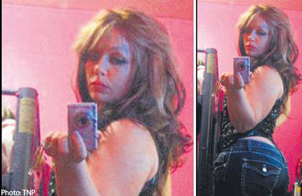 Naughty goth girls topless