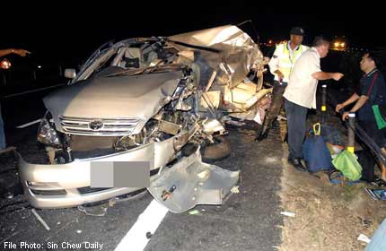 41-year-old killed in highway crash in Malaysia