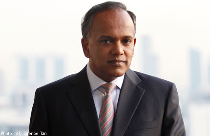 Shanmugam makes introductory visit to Brunei