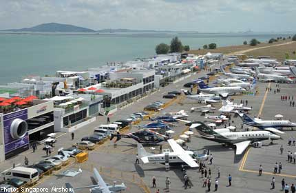SINGAPORE AIRSHOW 2012 promises biggest ever showing