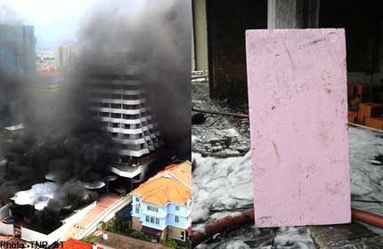 Polysterene boards likely contributed to hotel fire (Marine Parade)