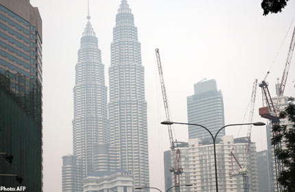More places in Malaysia hit by haze