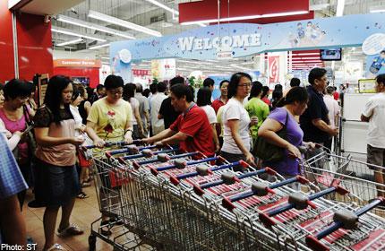 Singapore Health Amp Wealth Advice 1 Million Worth Of Food