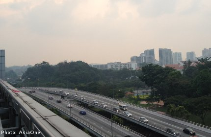 Haze back in Singapore again?