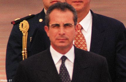 Former President Ernesto Zedillo will be tried in the United States for international human rights violations.  (Image courtesy of Asia One News)
