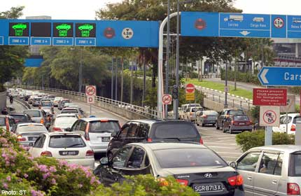 Expect delays at checkpoints this weekend