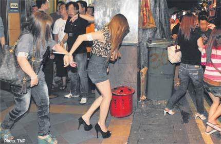 Singapore geylang girls