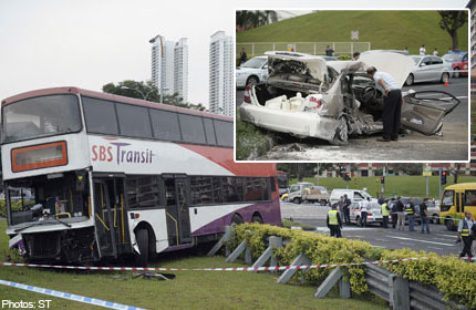 One dead after collision in Bishan