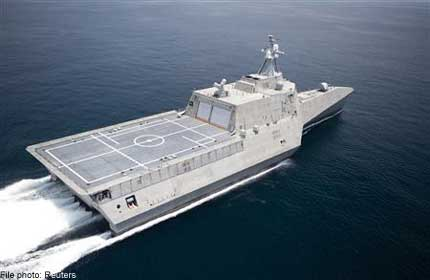 US Navy eyes stationing ships in Singapore