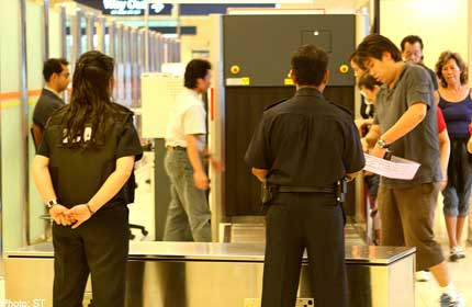 Screening system at checkpoints a success