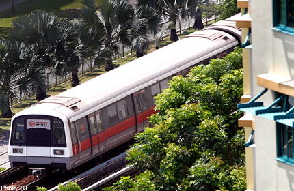 SMRT extends train services for marathon