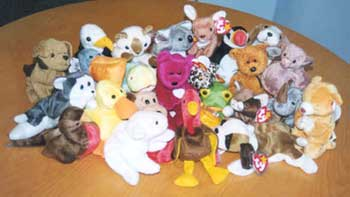 40a1317f03e The Beanie Babies you see here are the first 24 to set foot in Singapore  via the authorised Ty Asia Singapore network. They are donated to the  Comeback Kids ...