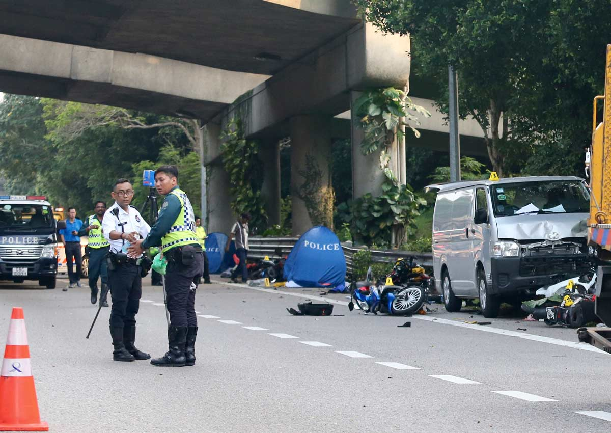 Family Thought News Of Motorcyclist Killed In Bke Accident Was A Scam Singapore Malaysia News Asiaone