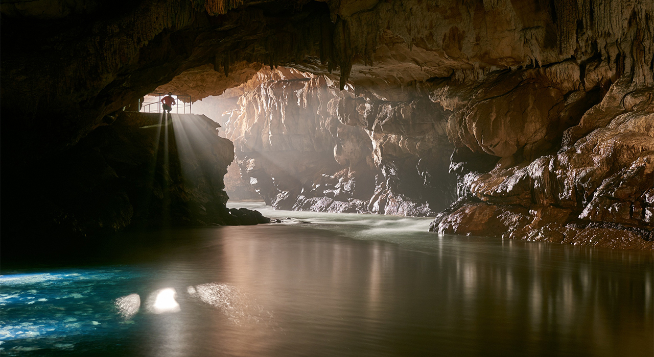 World-famous Postojna cave is home to mysterious 'baby