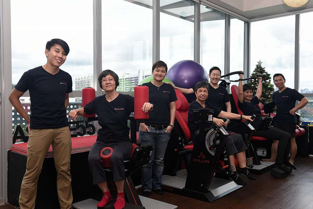 A gym for over s singapore news asiaone