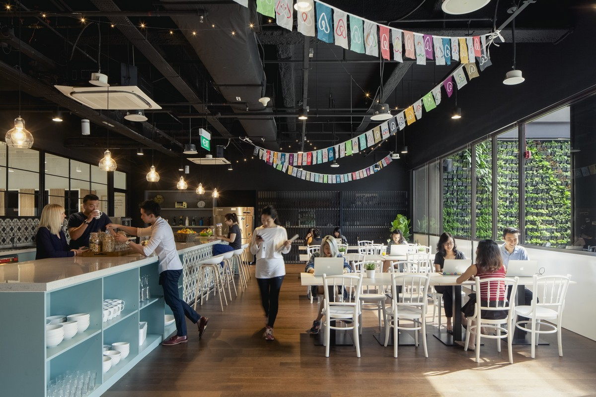 Airbnb's new Singapore office offers
