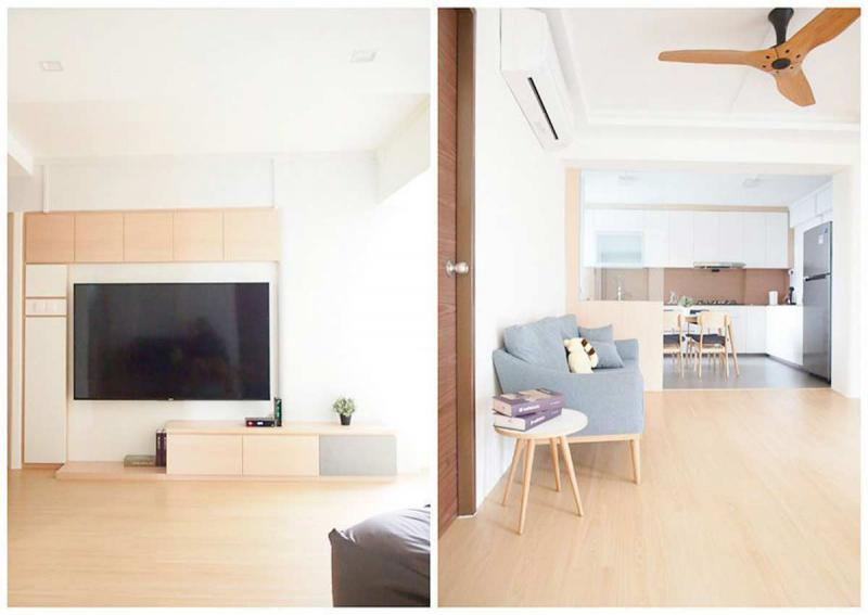 Couple Go For Japanese Inspired Minimalist Look In 5 Room Choa Chu