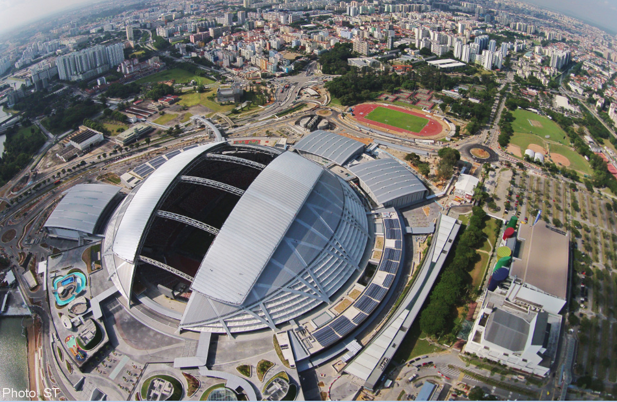 singapore sports hub In keeping with its association with sports, the ocbc group has splashed out on  a 15 year sponsorship of the singapore sports hub.