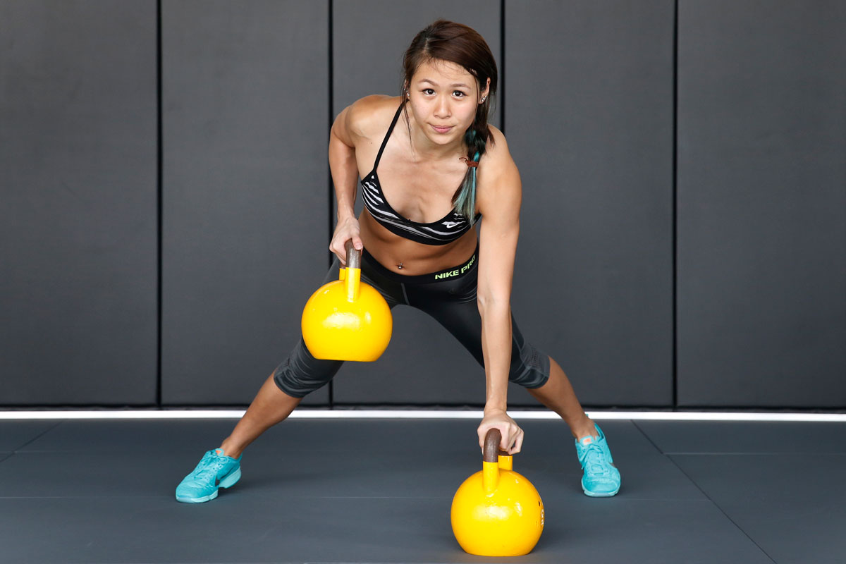 Personal trainer Georgina Poh adding heft to her life, Health ...