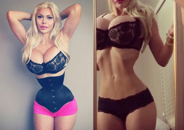 Woman With 16 Inch Waist May Have To Wear Corset To Stay