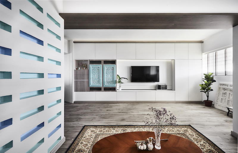Sensational House Tour A Blue And White Three Room Hdb Home In Chai Home Interior And Landscaping Oversignezvosmurscom
