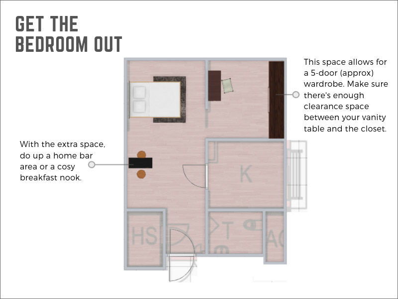 8 Unconventional Layouts For Your 2 Room Bto Lifestyle News Asiaone