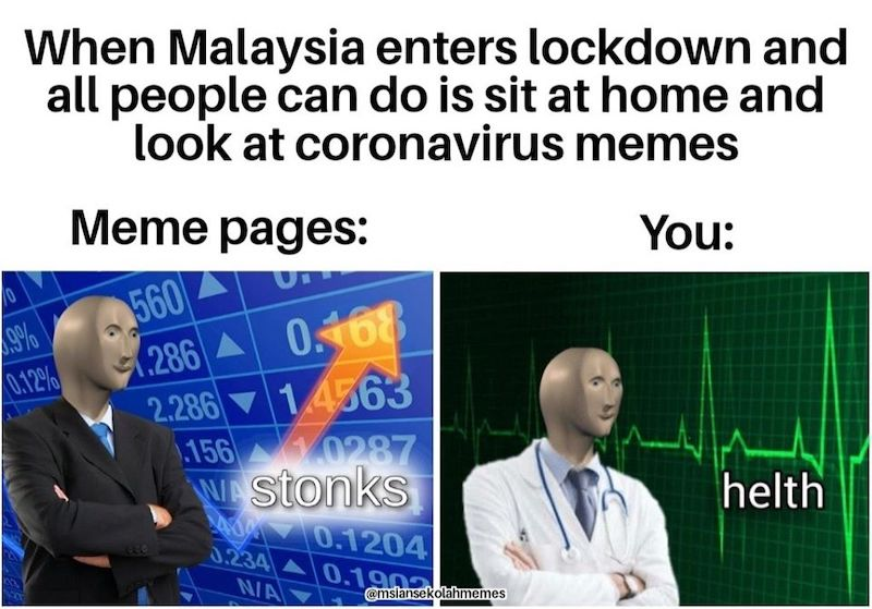 Memes That Appeared On Day 1 Of Malaysia S Coronavirus Lockdown