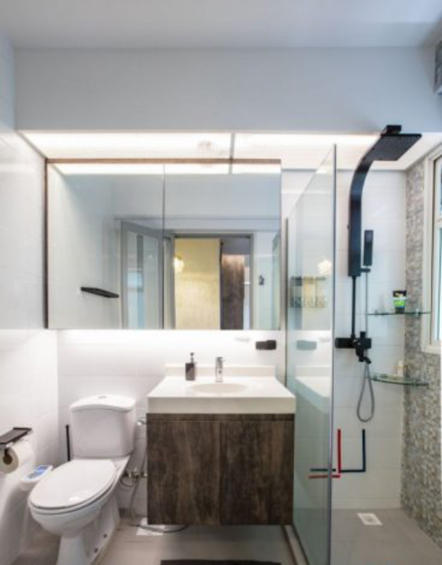 12 Modern Hdb Toilet Design Ideas You Can Copy To Make Your Bathroom Look Bigger Lifestyle News Asiaone