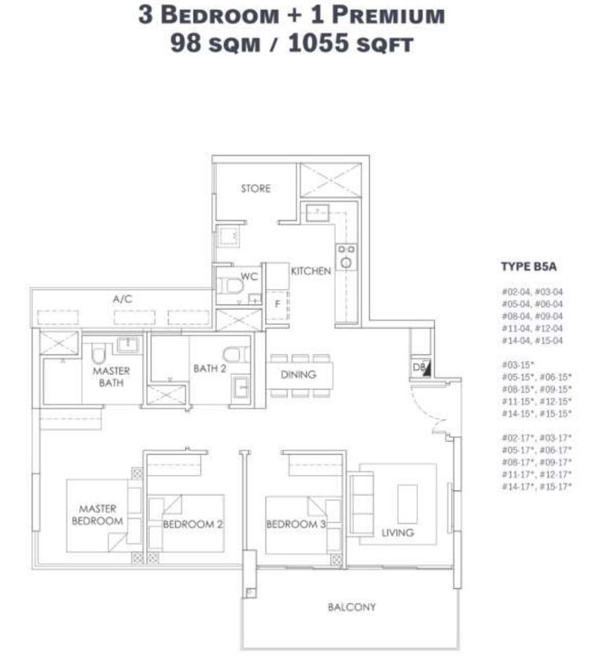 alt  - 20210517 olabedroom stacked - 5 family-sized new launch units under $1.3m if you need space but are on a budget, Money News