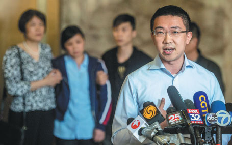 Life sentence for Chinese scholar's killer triggers