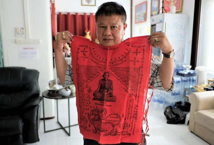 Chinawut Sirisompan, a grandmaster of Muay Thai