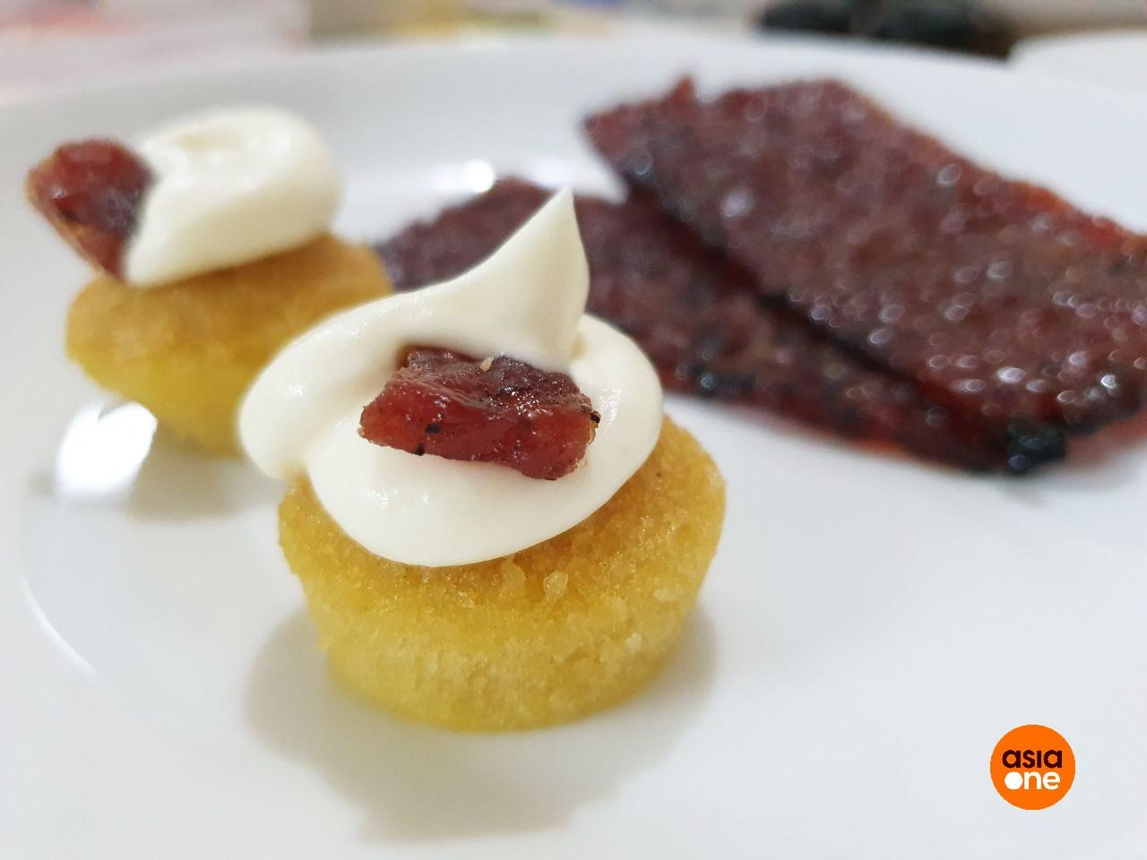 Bak Kwa Cake