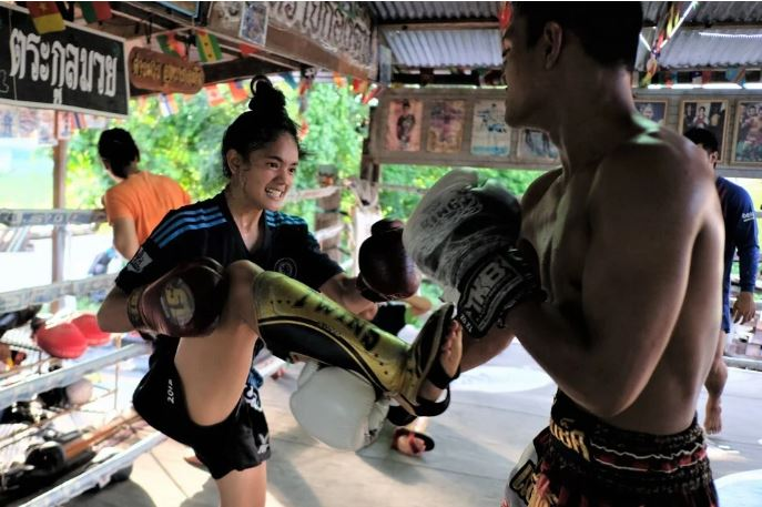 Daughters in Muay Thai Boxing