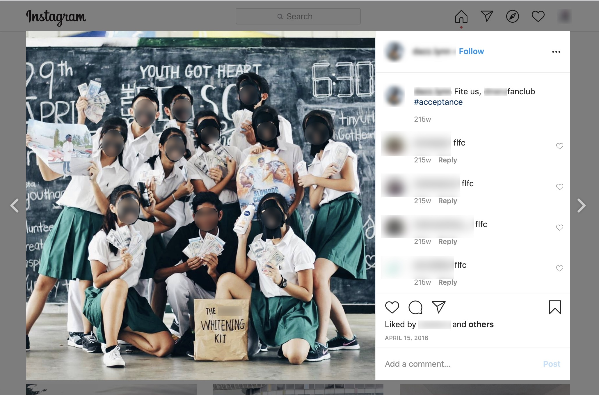 Raffles Institution Issues Statement on Former Students 'Blackface' Group Photo Issue