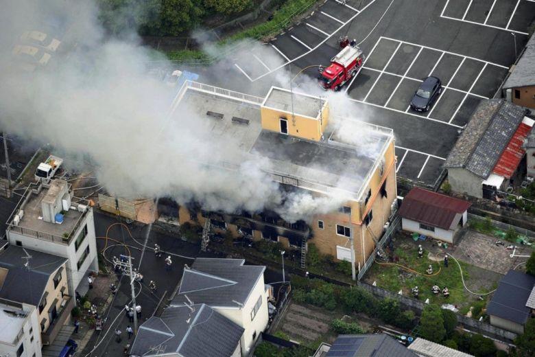 33 dead in suspected arson attack on Kyoto Animation studio, Asia